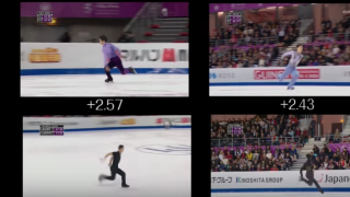 Collection of Jumps from Men's Single in Season 2016-17 (GPF) (Grand Prix Final)