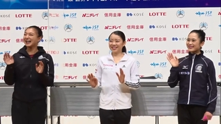 2020 Japanese Nationals - Ladies' Press conference after FS FujiTV
