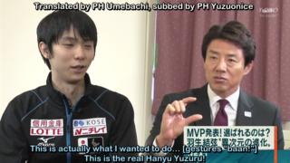 2016/11/28 Shuzo Matsuoka, after NHK