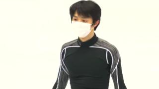 2021/03/22 Yuzuru Hanyu WC 2021 Monday practice FS  runthrough (added audio)
